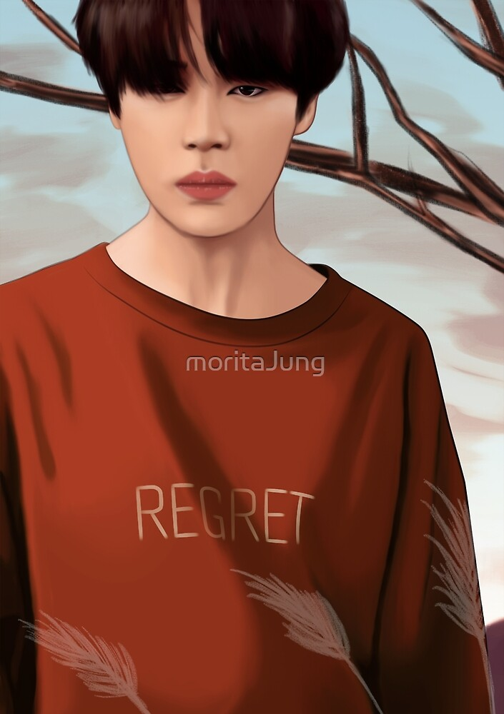 BTS JIMIN LOVE YOURSELF FANART by moritaJung