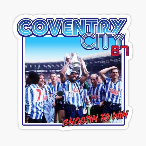 Coventry City 'Shootin to Win' Sticker
