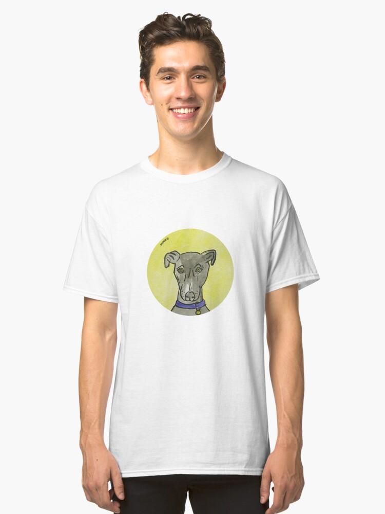 My black dog  Classic T-Shirt Front
