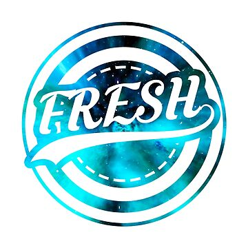 Fresh Logo with Galaxy backround by xRami