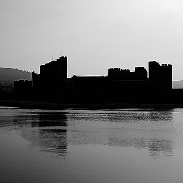 Caerphilly castle by Bluesrose