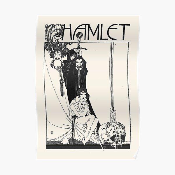 Hamlet William Shakespeare Cover Poster