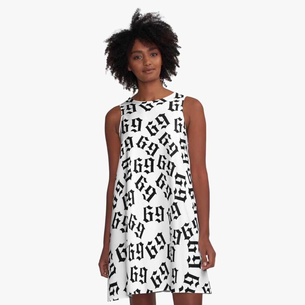 6ix9ine A-Line Dress Front