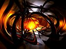 Birth of a Sun Abstract by Alexander Butler