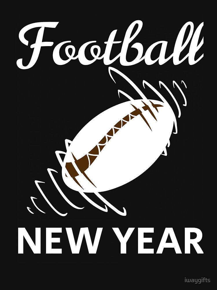 American Football New Year by iwaygifts
