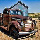 The Old Rust Bucket by Kim Cinnamon