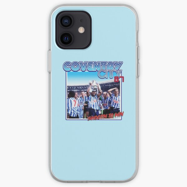 Coventry City 'Shootin to Win' iPhone Soft Case