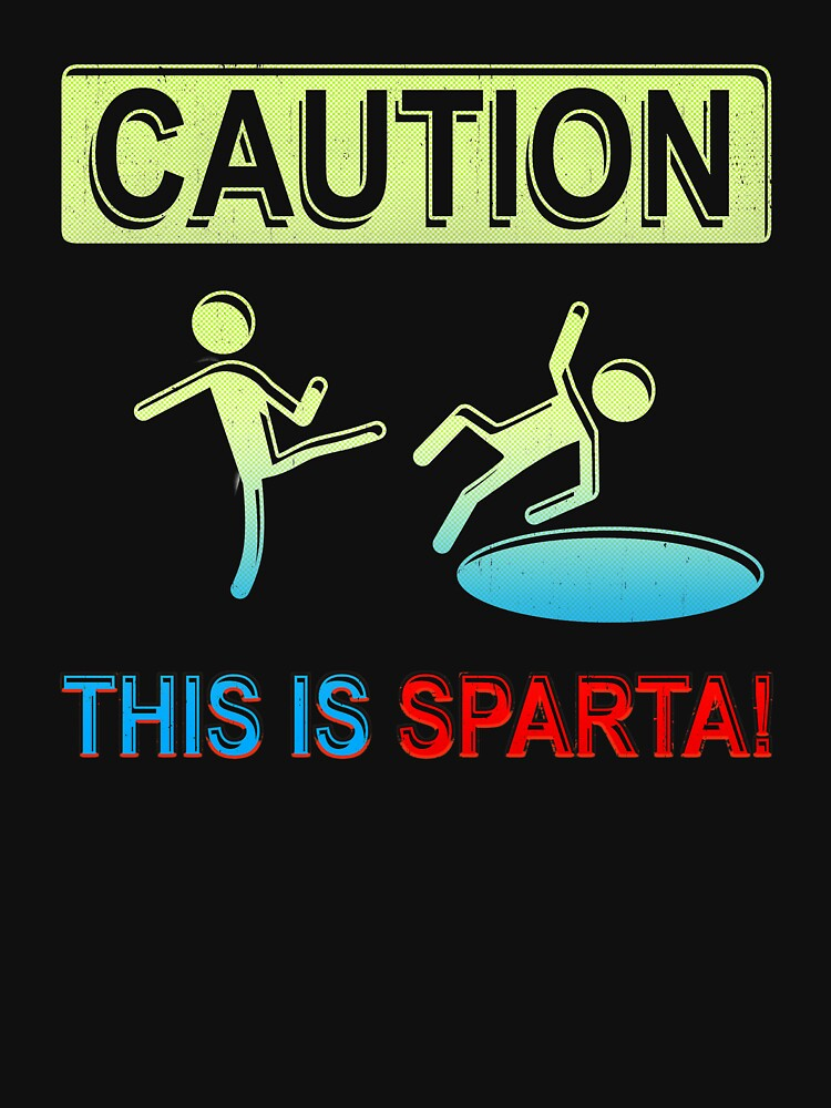 Caution This is Sparta by PseudoCavalier