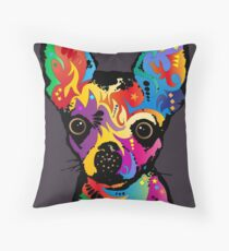 Chihuahua Dog Throw Pillow