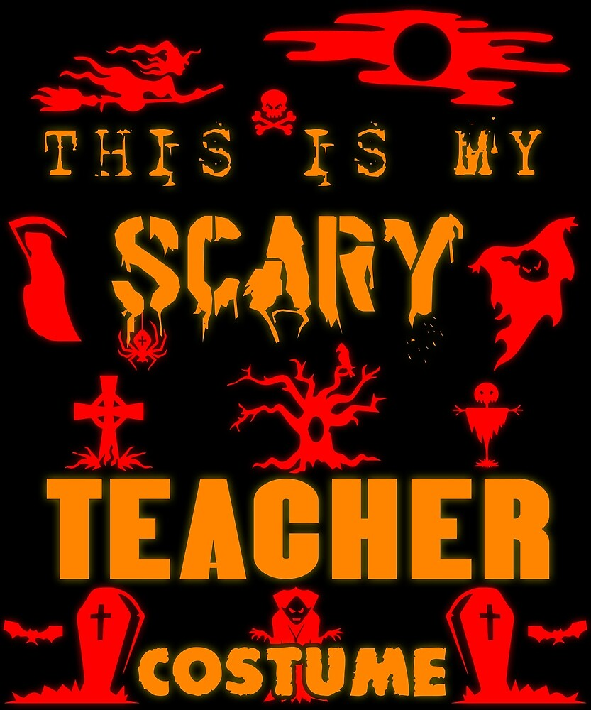 Teacher Costume Halloween Gift Gift Idea by SoulProducts