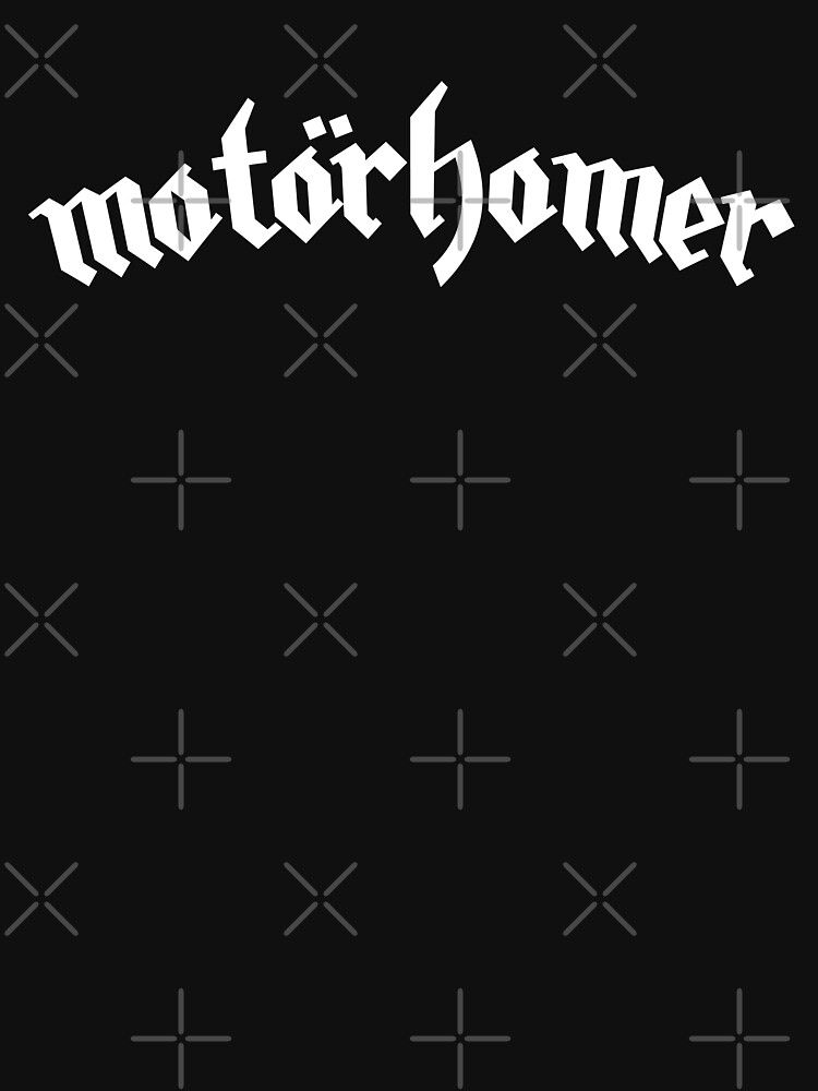 Motorhomer Gothic Black and White RV Design by CreativeTwins
