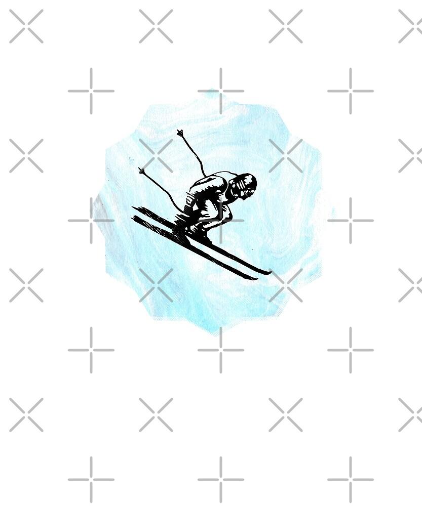 Downhill Ski by madtoyman