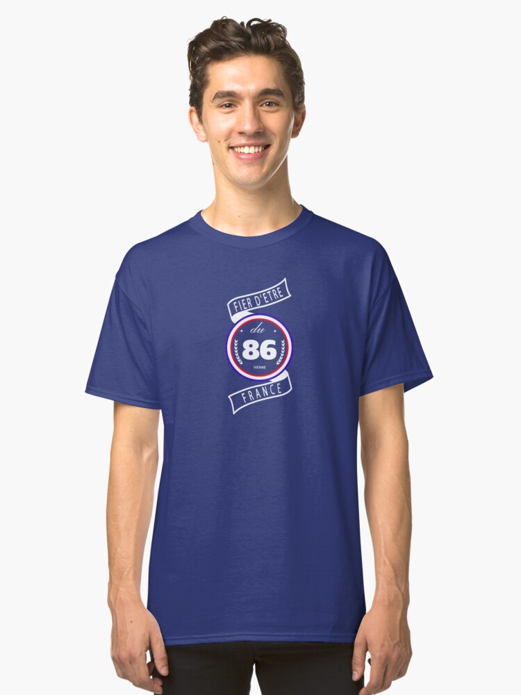 Proud to be 86 Classic T-Shirt Front