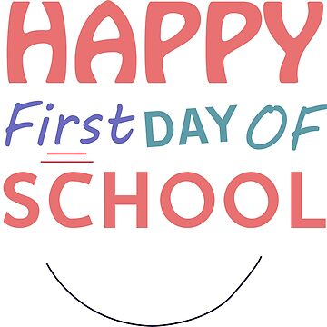 Happy first day of school by Ts-shoop