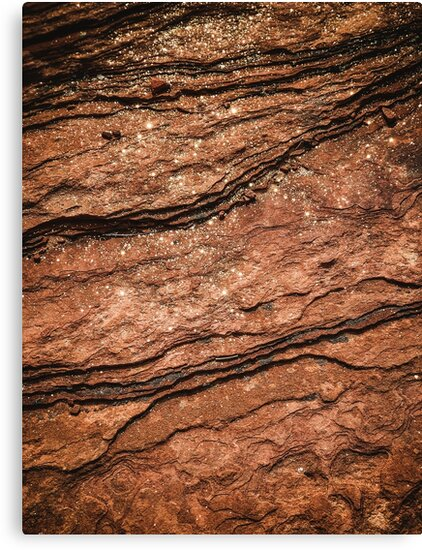 Mars Gold Sand Pattern Texture by VinyLab