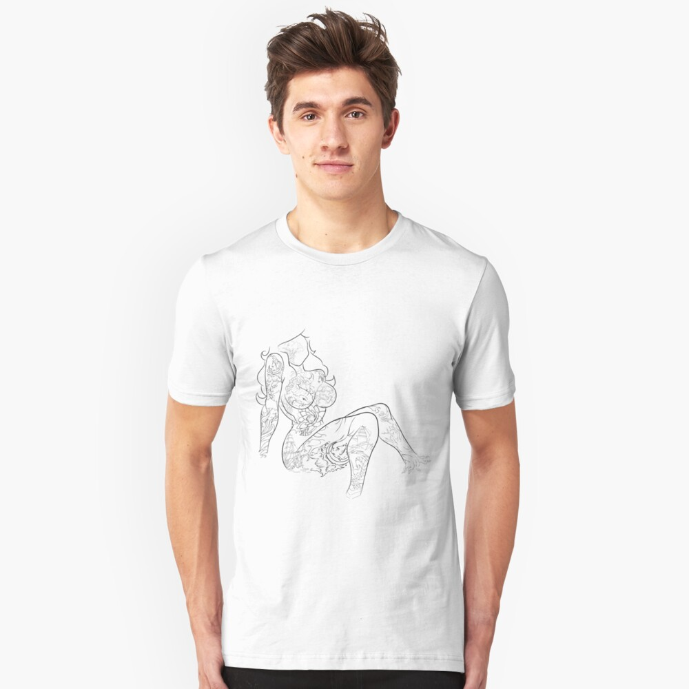 The Mysterious woman Unisex T-Shirt Front