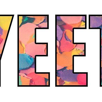yeet pastel confetti by gleba420