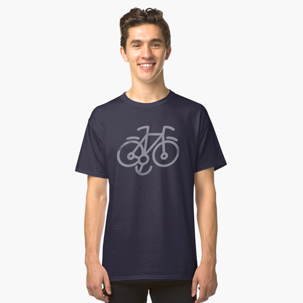 Bicycle Smile Classic T-Shirt Front