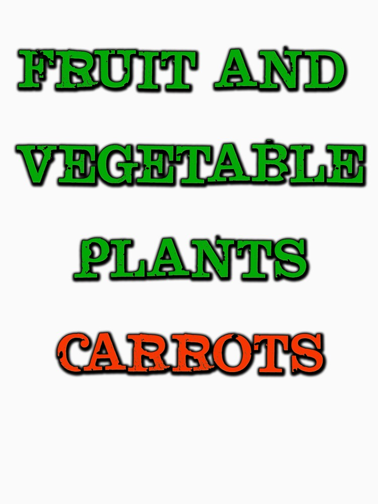 FRUIT AND VEGETABLE PLANTS CARROTS by AbdelaaliKamoun