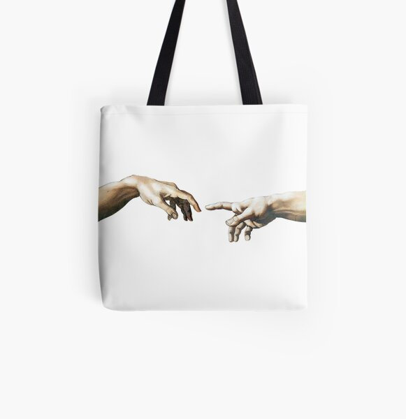 The Hand of God All Over Print Tote Bag
