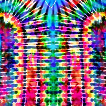 Sunshine and Rainbows Tie Dye by KirstenStar
