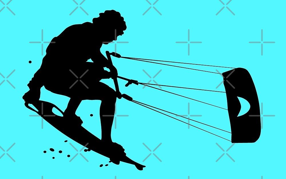Kitesurfing by Sibo Miller