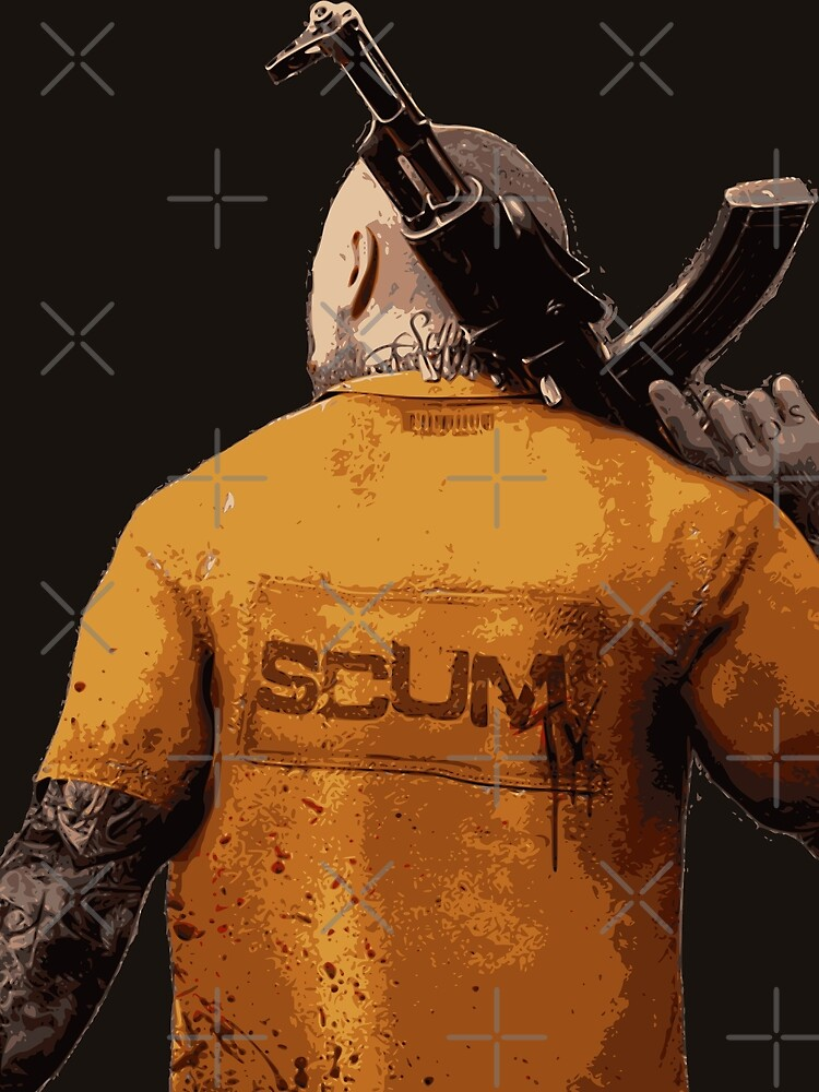 SCUM MAN KALASH SURVIVAL GAME by BattleRoyaleFan