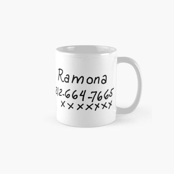 Scott Pilgrim - Ramona Flowers Phone Number Classic Mug