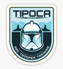 Tipoca Trooper Training Sticker