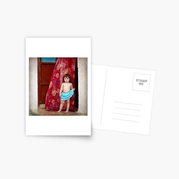 Do you like my skirt? Postcard