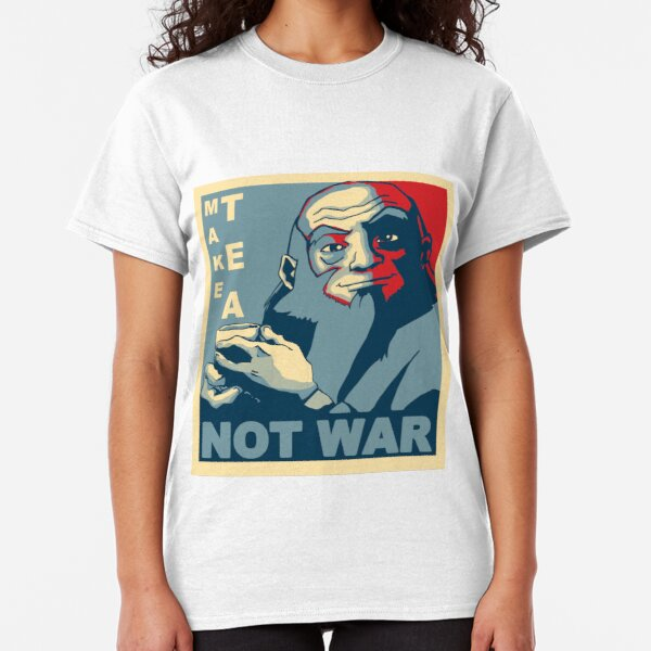 "Iroh ""Make Tea Not War"" Classic T-Shirt"