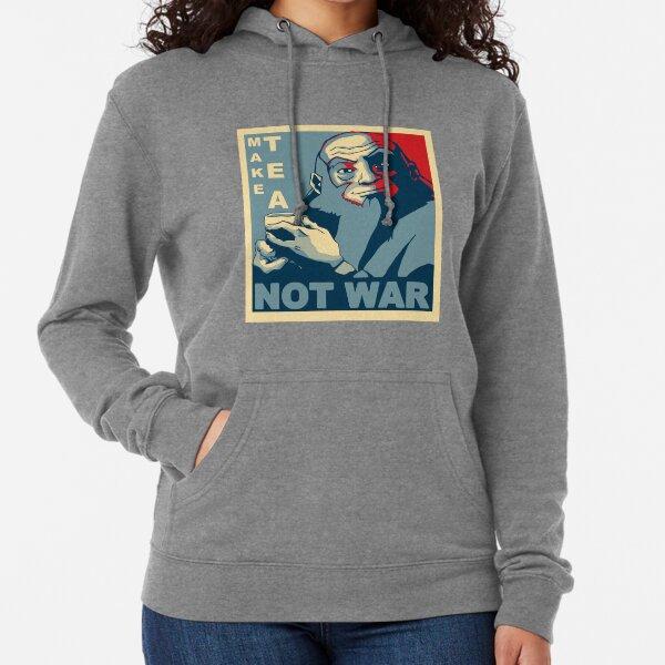 """Iroh """"Make Tea Not War"""" Lightweight Hoodie"""