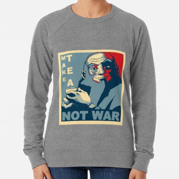 """Iroh """"Make Tea Not War"""" Lightweight Sweatshirt"""