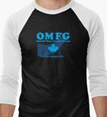 OMFG: Ontario Mega Finance Group Men's Baseball ¾ T-Shirt