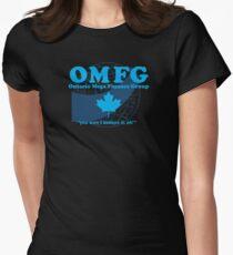 OMFG: Ontario Mega Finance Group Women's Fitted T-Shirt