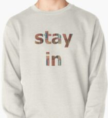 Stay in books Pullover