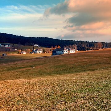 Meadows and farms in rural scenery | landscape photography by patrickjobst