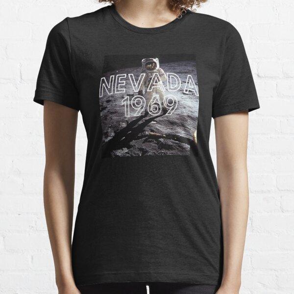 Fake Moon Landing Conspiracy Theory Nasa Lied T-Shirt Essential T-Shirt