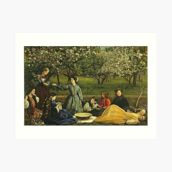 Spring or Apple Blossoms - John Everett Millais Art Print