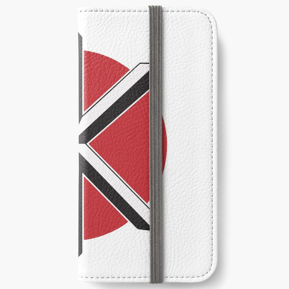 DeadKennedys weiß iPhone Flip-Case