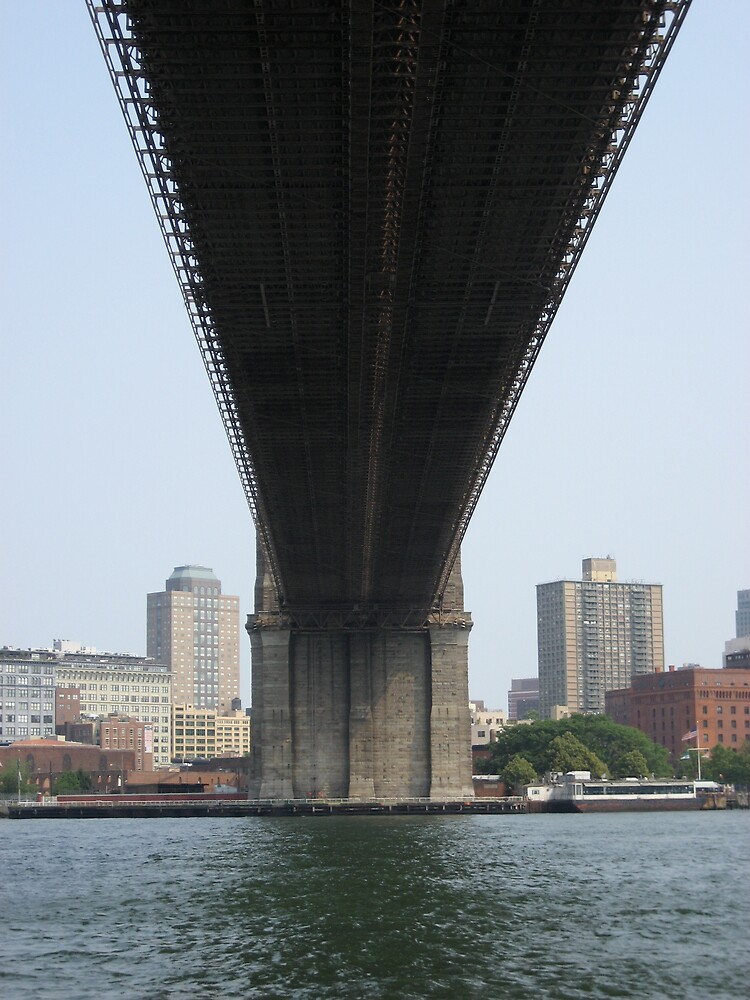 Below the Brooklyn Bridge by SplatterPics
