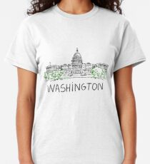 Washington DC USA Classic T-Shirt
