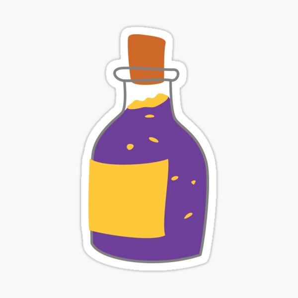 Bubbling Purple Potion Sticker
