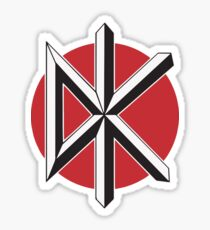DeadKennedys black Sticker
