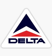 Vintage Delta Airlines Sticker