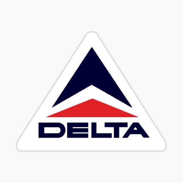 Vintage Delta Airlines Sticker
