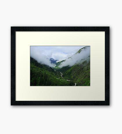 Scenic Beauty at Pandukeshwar Framed Print