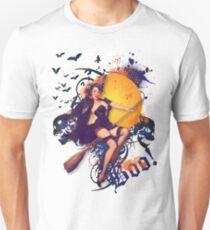 The Kitsch Bitsch : Halloween Kitsch Witsch Pin-Up T-Shirt