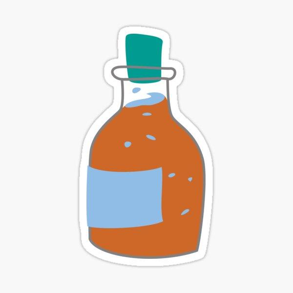 Bubbling Orange Potion Sticker