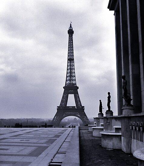Eifel Tower, Winter 1945 by Jim Haley